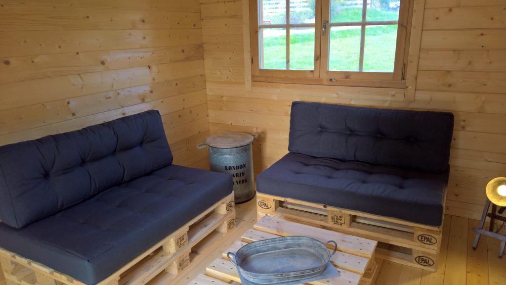 Cabin Wohnraum