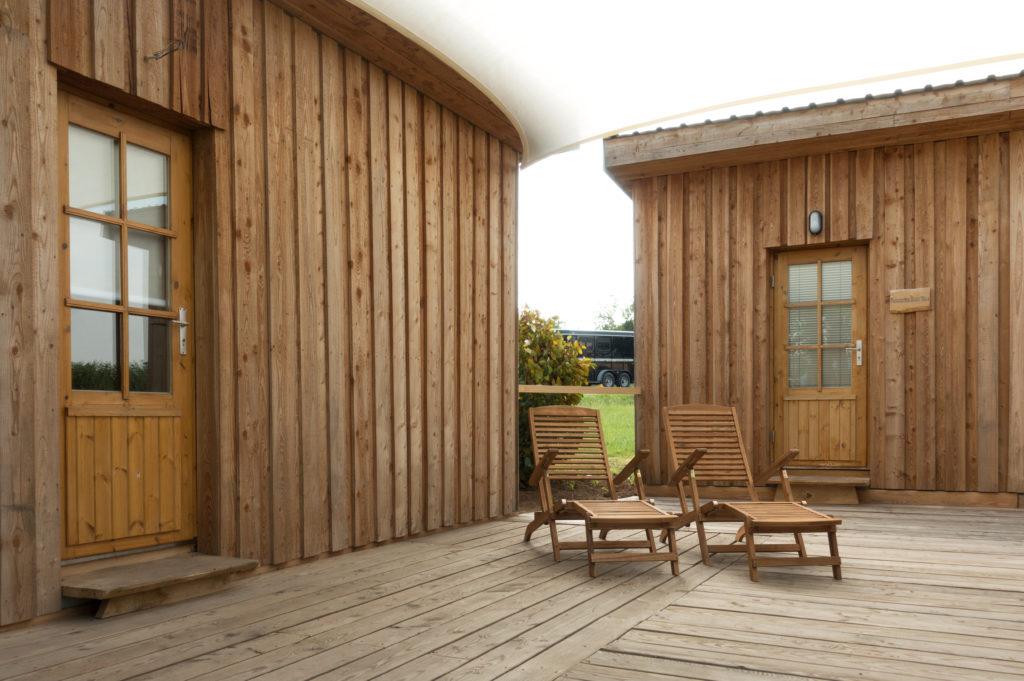 Der Cabin-Relaxplatz